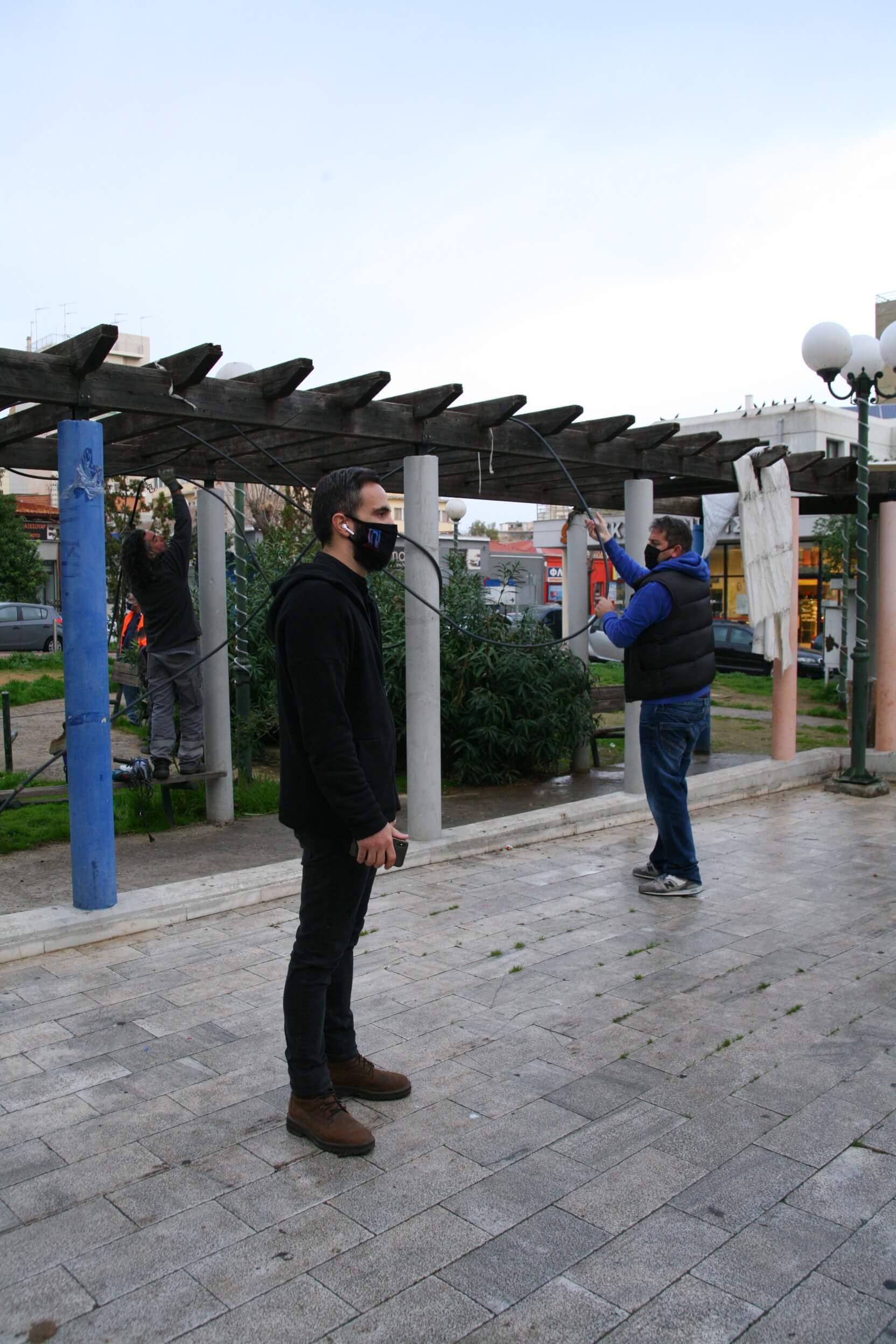 Δήμος Πειραιά : Συντονισμένη επιχείρηση καθαρισμού πλατειών