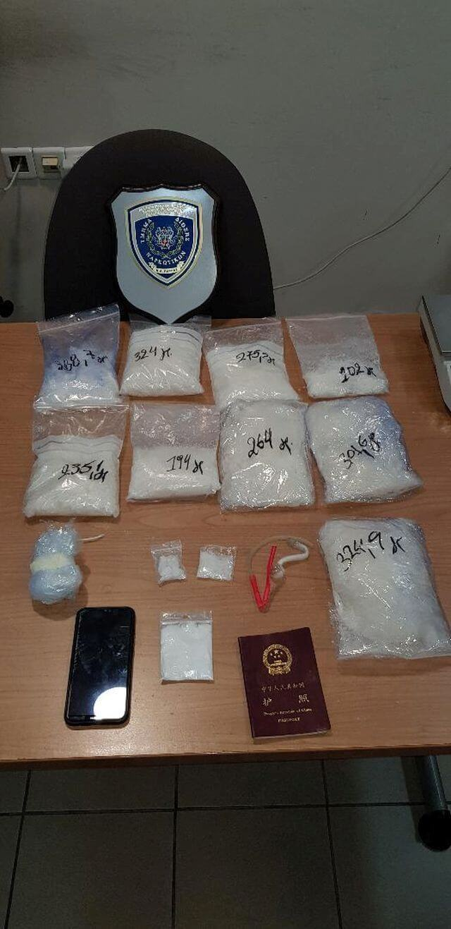 Σύλληψη αλλοδαπού για ναρκωτικά στην Πάτρα (ΒΙΝΤΕΟ)