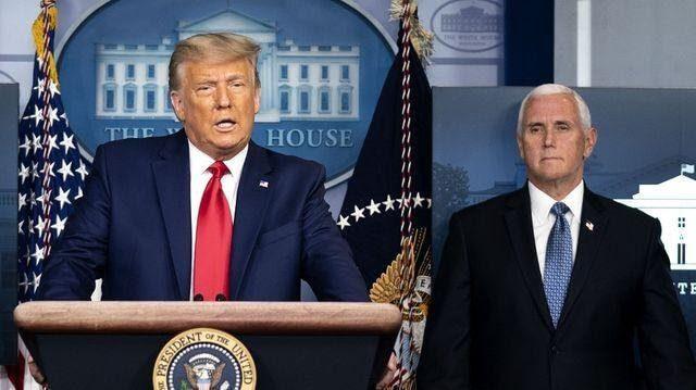 Συνάντηση Donald Trump και Mike Pence στο οβάλ γραφείο μετά την έφοδο στο καπιτώλιο - Τι ειπώθηκε;