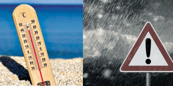 Τρελός καιρός σήμερα : Βροχές με υψηλές θερμοκρασίες