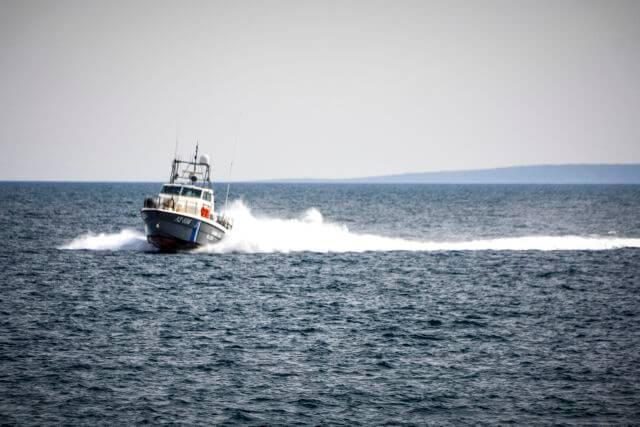 Βύθιση Ε/Ρ-Α/Κ σκάφους στη Χαλκίδα