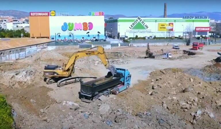 Piraeus Retail Park - To νέο εμπορικό πάρκο του Πειραιά παίρνει σάρκα και οστά
