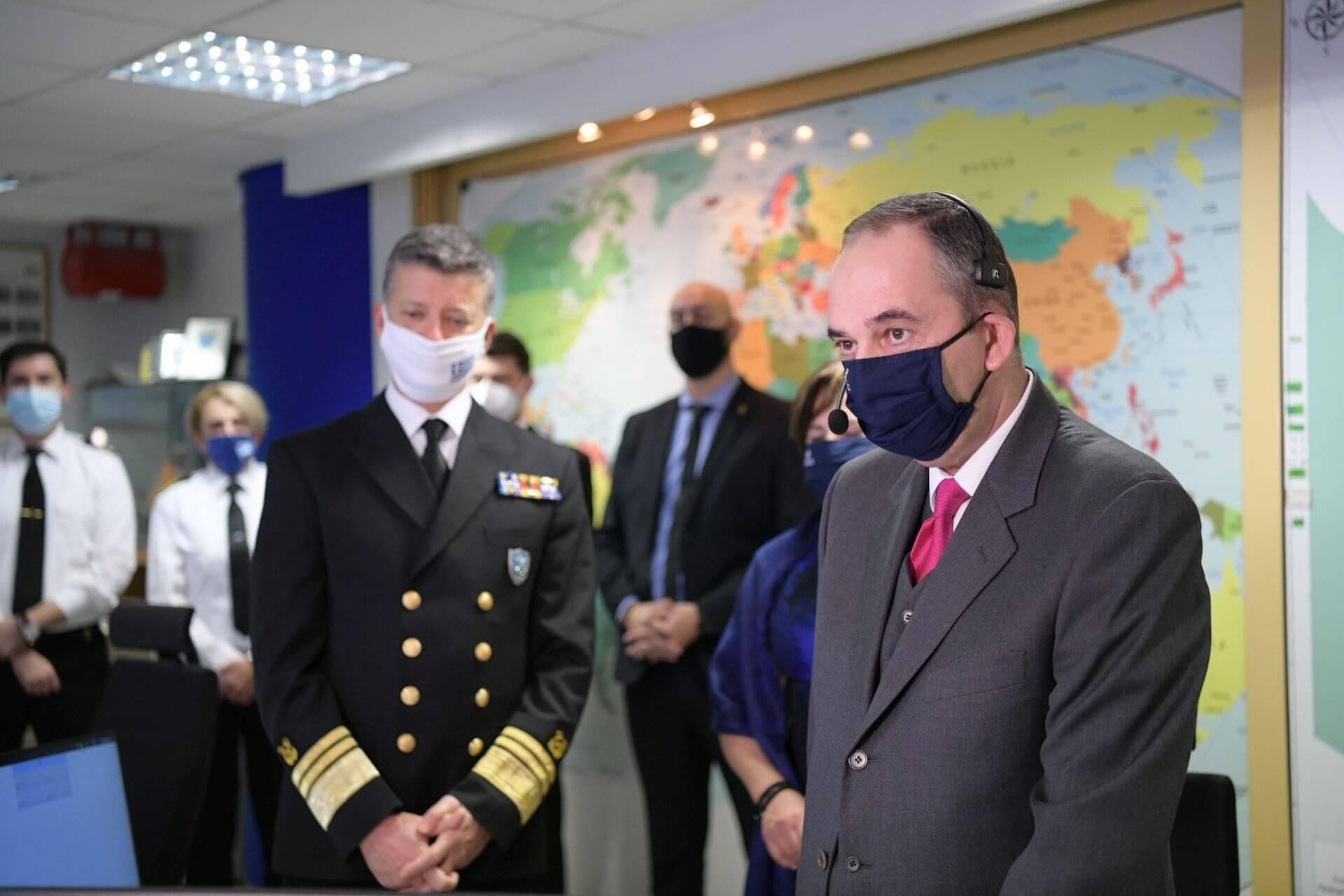 Ευχές για το νέο Έτος από τον ΥΝΑΝΠ κ. Γιάννη Πλακιωτάκη σε ναυτικούς εν πλω