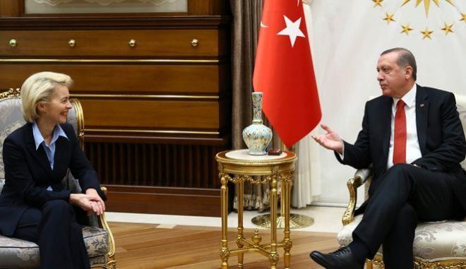 Ερντογάν: Στόχος της Τουρκίας είναι η προσέγγιση με την Ε.Ε.