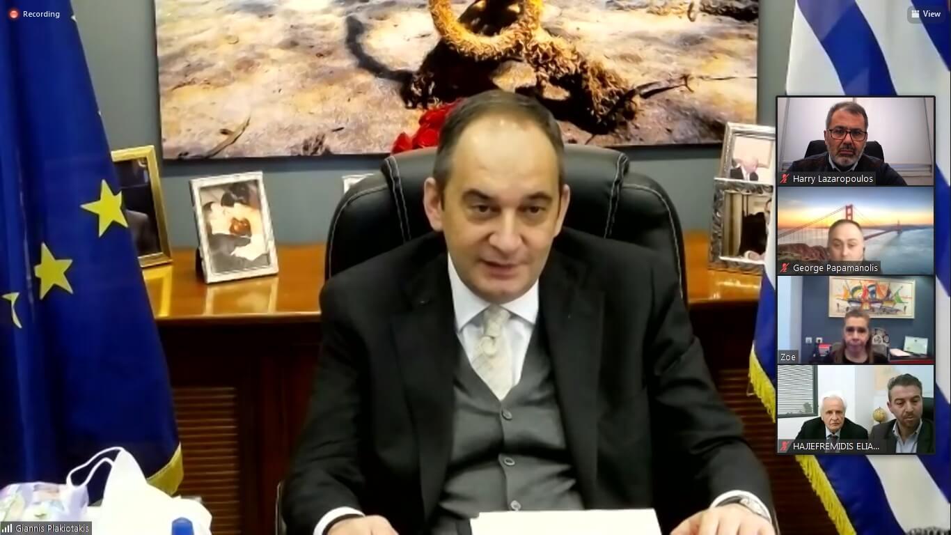 Δέσμη μεταρρυθμίσεων στη Ναυτιλία ανήγγειλε στη WIMA ο Γ. Πλακιωτάκης
