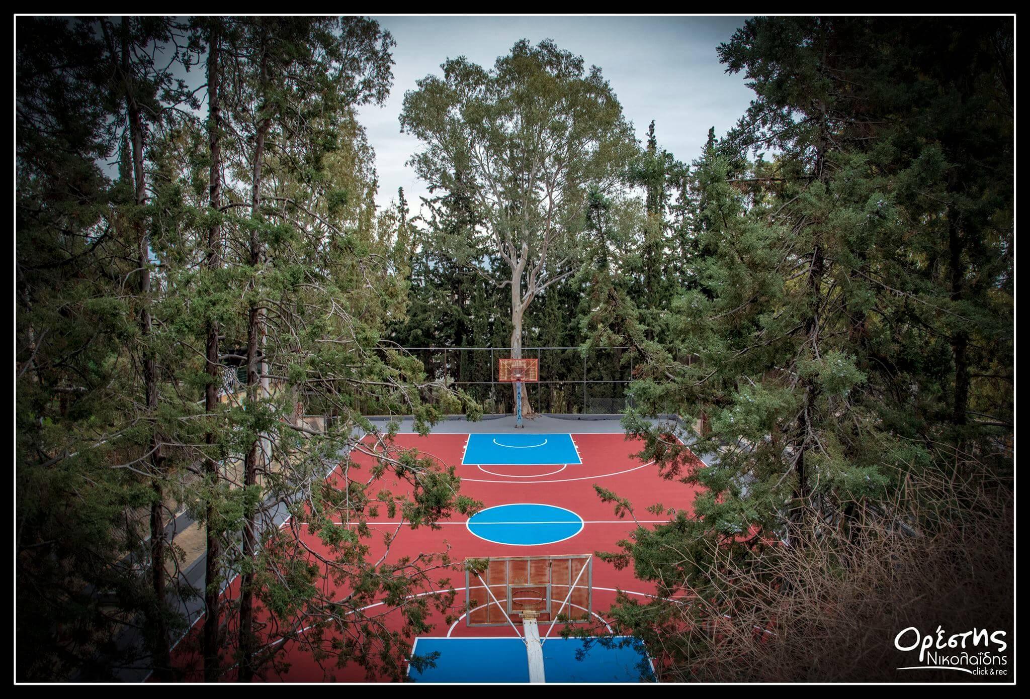 Νίκαια: Έτοιμο και το μπάσκετ στον Άγιο Φίλιππο