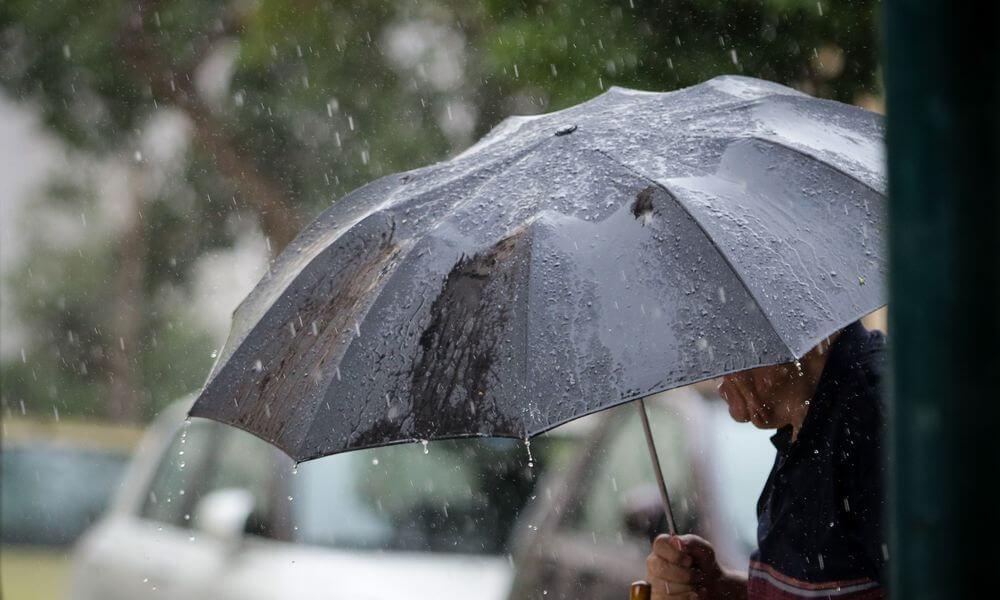Καιρός : Βροχές και καταιγίδες