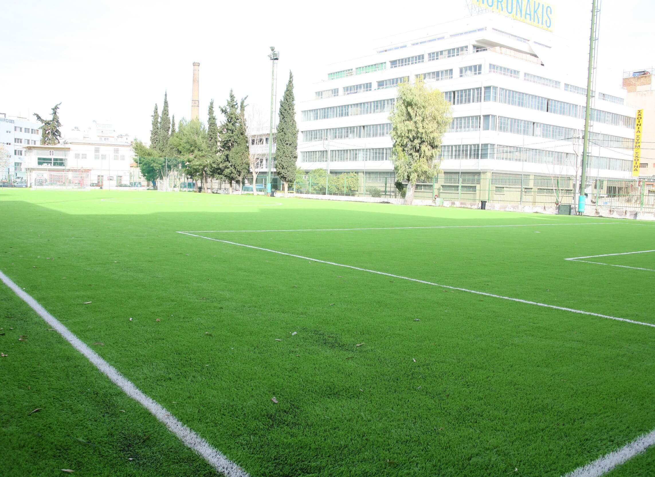 Πειραιάς : Παραδόθηκε το ανακαινισμένο γήπεδο ποδοσφαίρου του Αγίου Διονυσίου