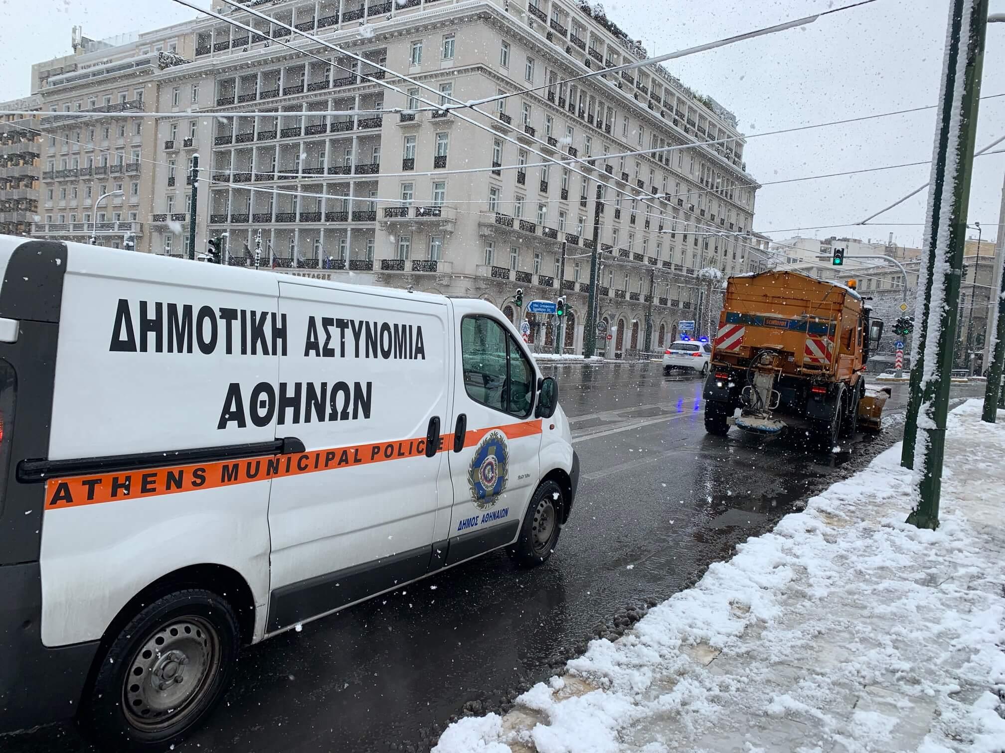 Αθήνα: Σε όλους τους δρόμους 37 μηχανήματα του Δήμου