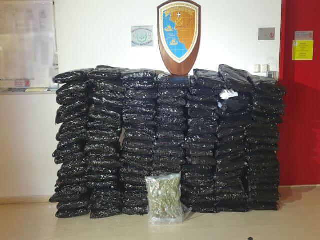 Ηγουμενίτσα: 2 συλλήψεις για κατοχή 147kg skunk