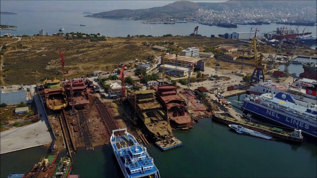 Τραυματισμός εργαζομένου σε ναυπηγείο στη Σαλαμίνα