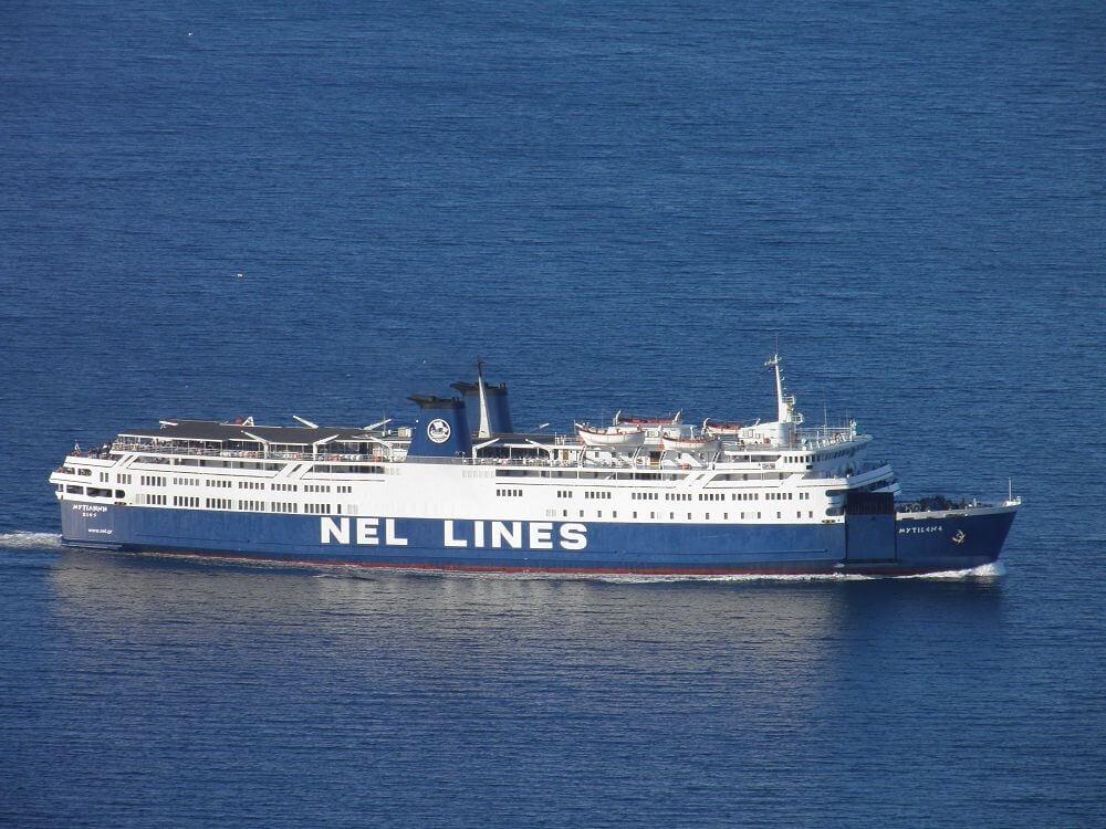 Κλίση Ε/Γ-Ο/Γ πλοίου στην Ελευσίνα