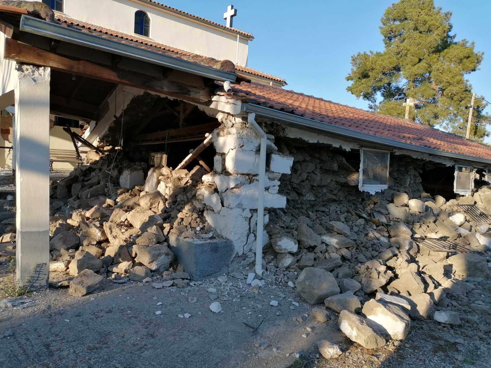Σεισμός Θεσσαλία: Μεγάλες ζημιές, στους δρόμους οι κάτοικοι