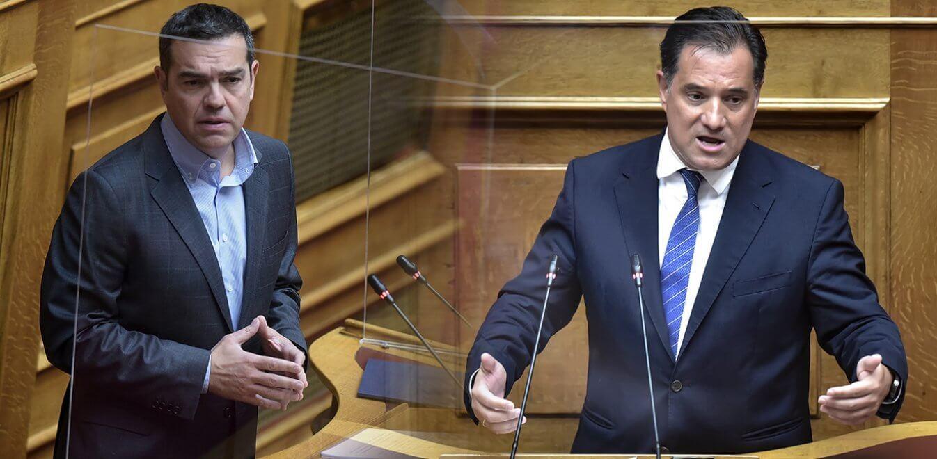 Τσίπρας εναντίον Γεωργιάδη: «Ήρθε ο νονός, πάντα άξιος»