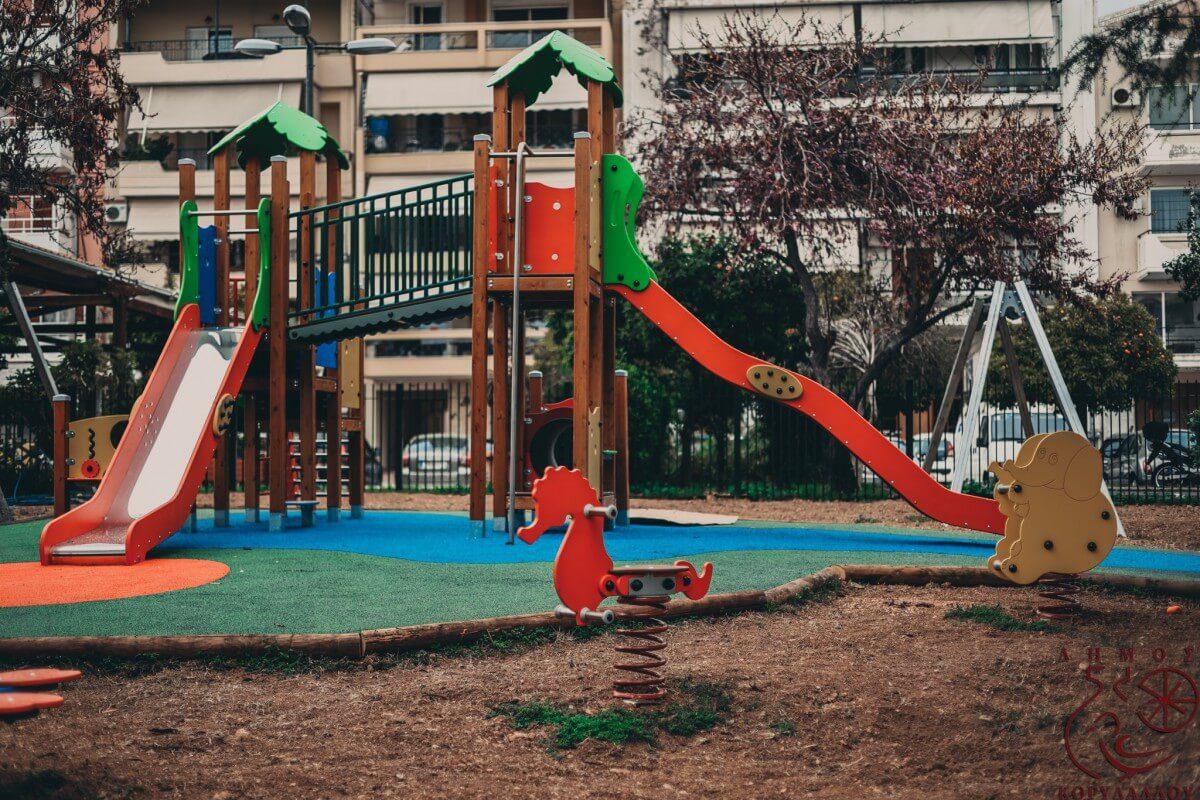 Δήμος Κορυδαλλού: Παραδίδονται δύο νέες παιδικές χαρές