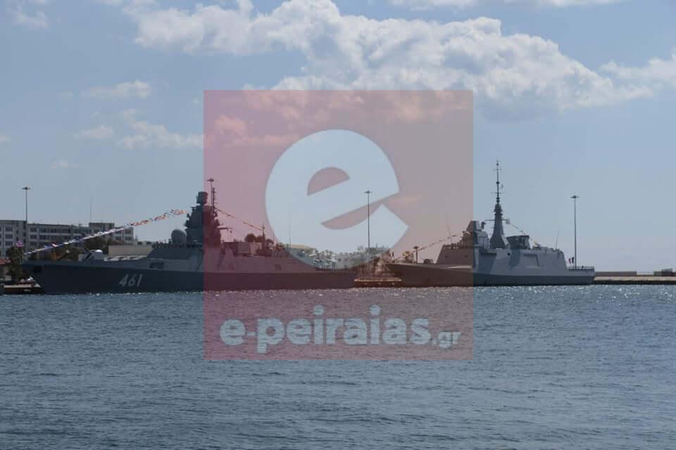 «Languedoc» και «Ναύαρχος Kasatonov»: Ποιές είναι οι δύο εμβληματικές φρεγάτες στο λιμάνι του Πειραιά (ΦΩΤΟ)