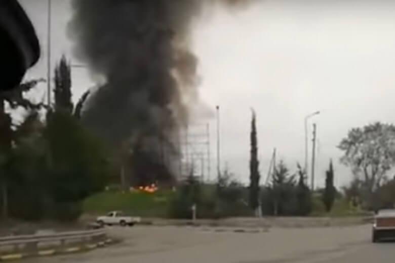 Ενημέρωση για την πυρκαγιά σε εργοστάσιο ανακύκλωσης στο Σχηματάρι Βοιωτίας