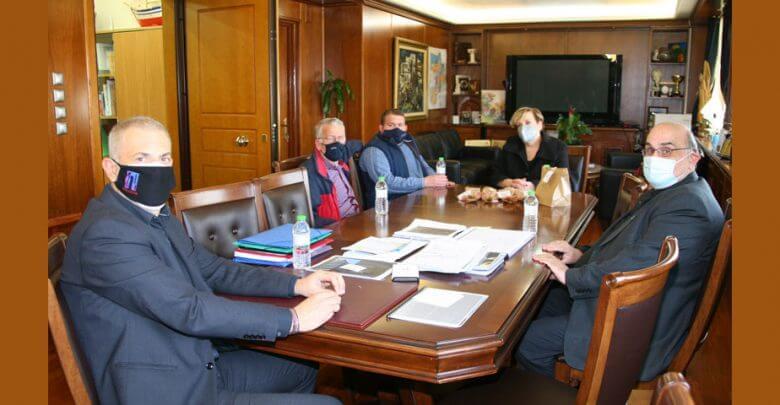 Συνάντηση Γιάννη Μώραλη με την Πρόεδρο της Εταιρείας Προστασίας Αυτιστικών Ατόμων Βάσω Ευαγγέλου