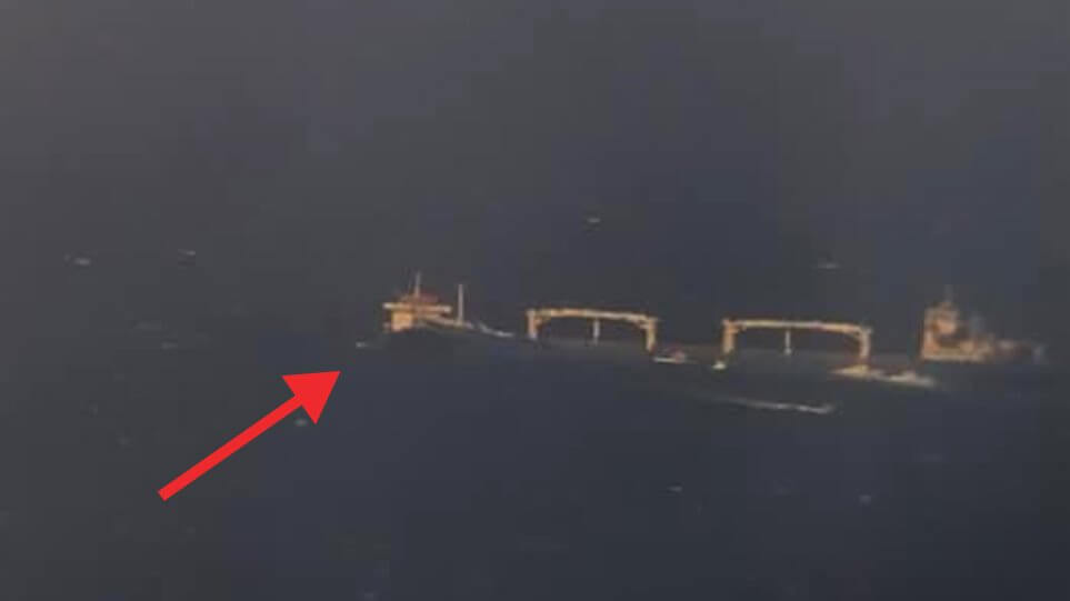 Σύγκρουση πλοίων στη θαλάσσια περιοχή Βορειοδυτικά ν. Κυθήρων
