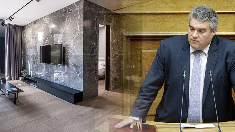 Πρόστιμο σε Βουλευτή της ΝΔ μετά από έλεγχο σε ξενοδοχείο στο Κολωνάκι