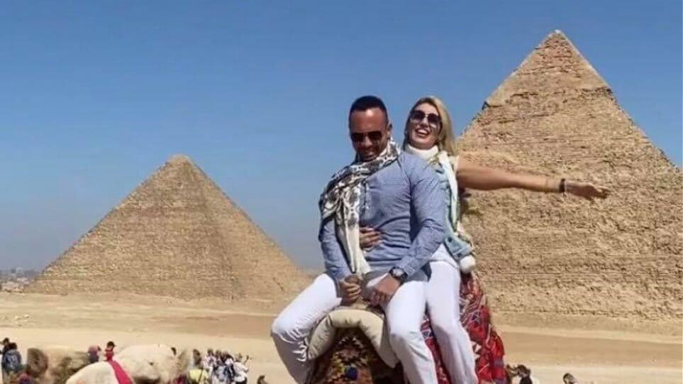 Σπυροπούλου: Έφυγε για Κάϊρο με το σύντροφό της & ξεσήκωσε αντιδράσεις - Ουγγαρέζος: «Πάντα αναίσθητη ήταν»