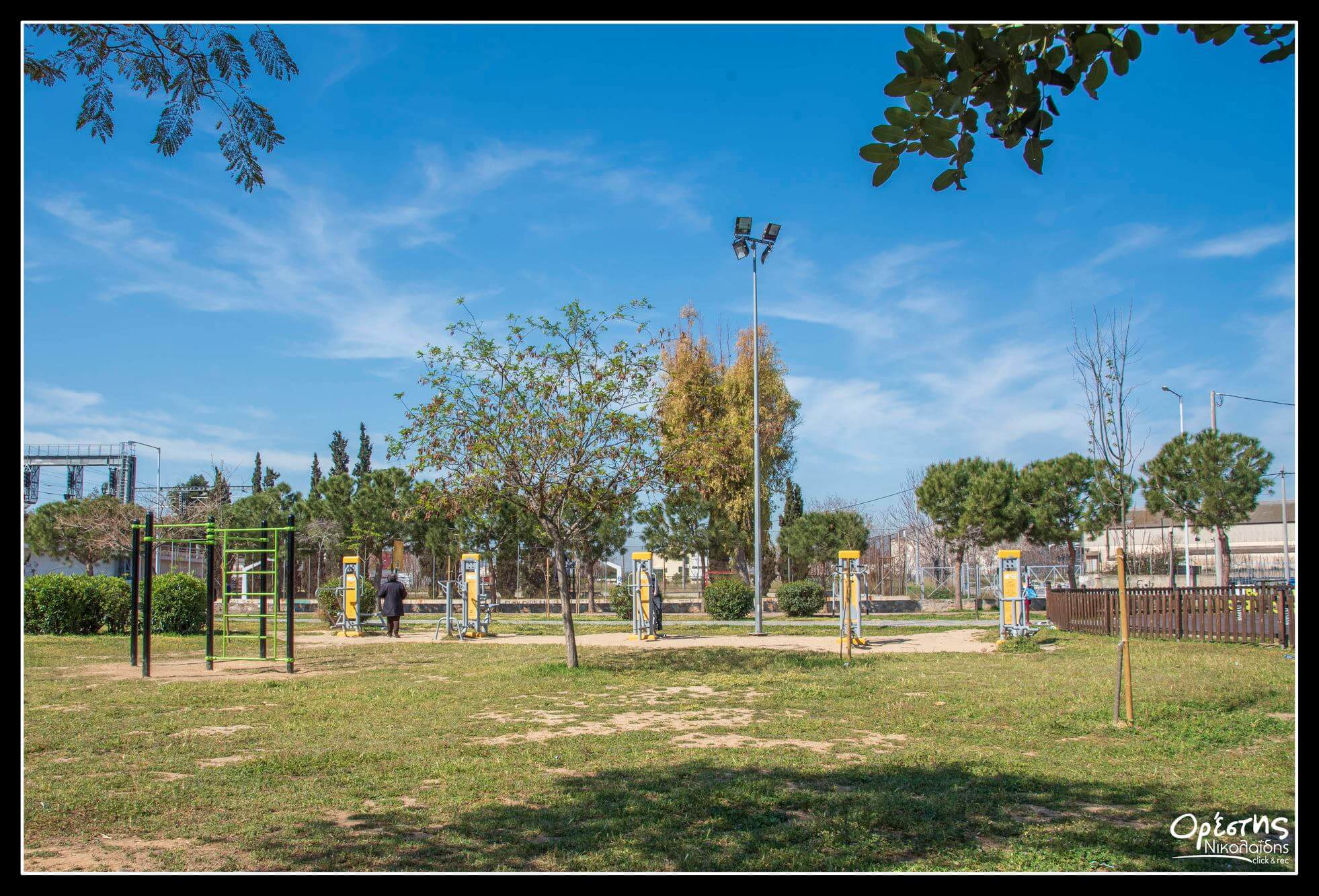 Υπαίθρια Γυμναστήρια και στη δημοτική ενότητα Αγ.Ι. Ρέντη