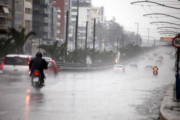 Καιρός (5/4): Ασθενείς τοπικές βροχές και μικρή πτώση της θερμοκρασίας