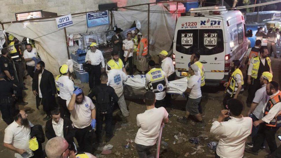 Κατέρρευσε εξέδρα στο Ισραήλ - 44 νεκροί και πάνω από 150 τραυματίες (σκληρές εικόνες και βίντεο)