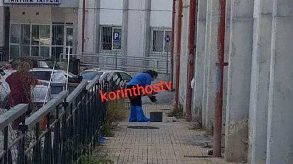 ΣΟΚ στην Κόρινθο: Ανδρας έκοψε το μόριο του και έπεσε από τον 2ο όροφο