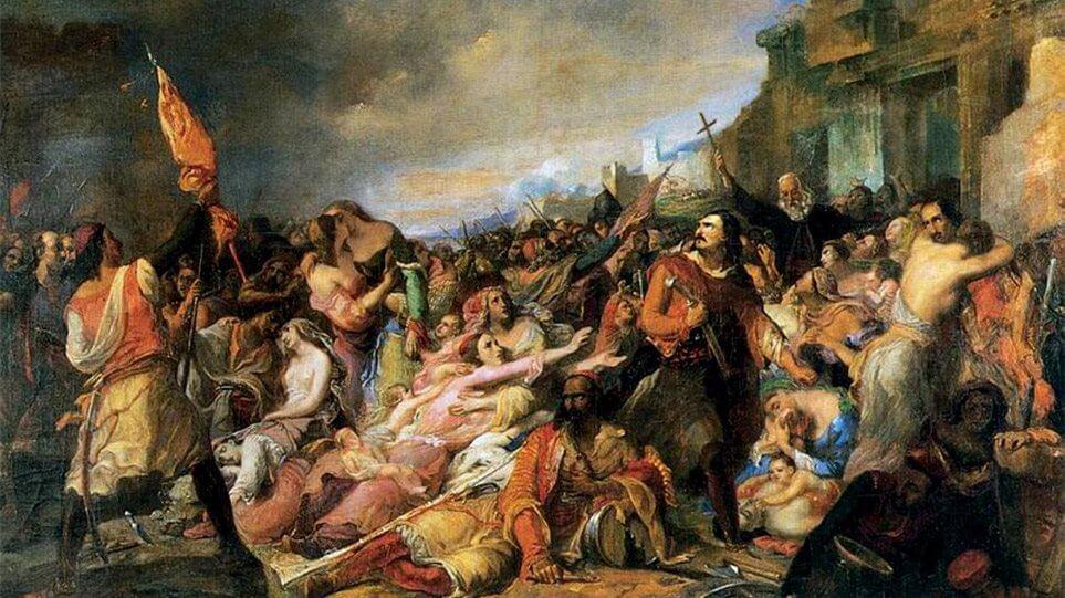 Η ηρωική έξοδος του Μεσολογγίου στις 10 Απριλίου 1826