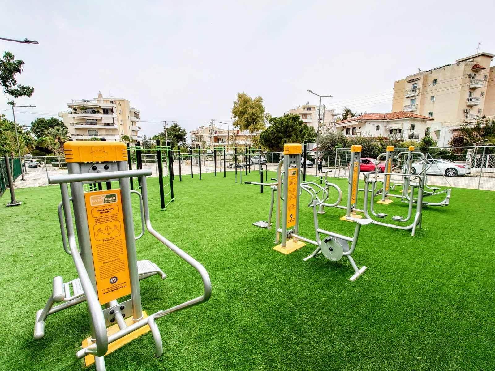 Καινούργιο υπαίθριο γυμναστήριο στην Άνω Γλυφάδα