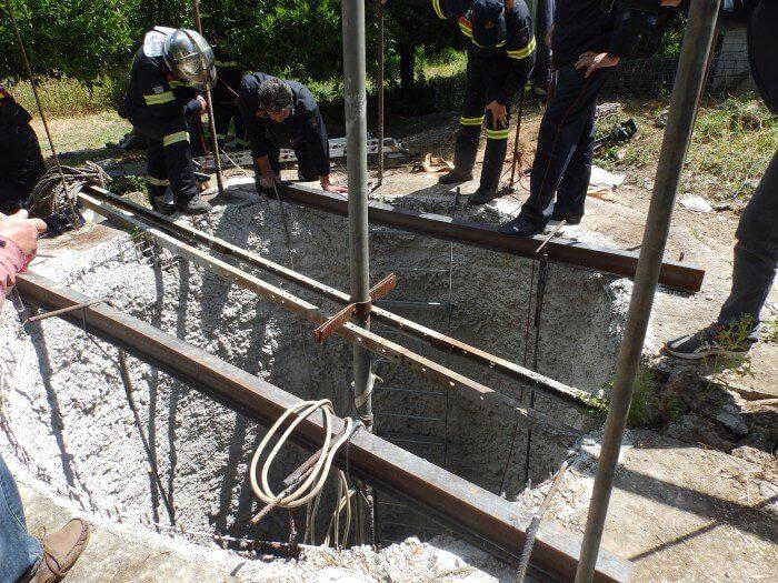 Ηγουμενίτσα: Άνδρας έπεσε σε πηγάδι - Προσπάθεια απεγκλωβισμού του