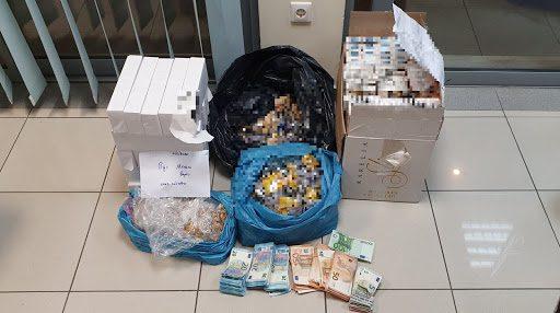 Χαλκίδα: Σύλληψη 63χρονου για λαθραία καπνικά προϊόντα