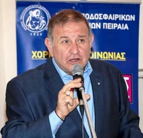 Βροχή από ευχές δέχθηκε ο Γιάννης Σπάθας για την εκλογή του ως πρόεδρος στην ΕΠΣΠ