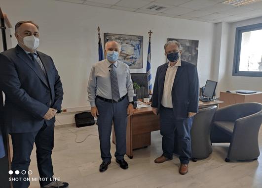 Με τον Γ.Γ. Επαγγελματικής Εκπαίδευσης συναντήθηκε ο Πρόεδρος του Βιοτεχνικού Επιμελητηρίου Πειραιά
