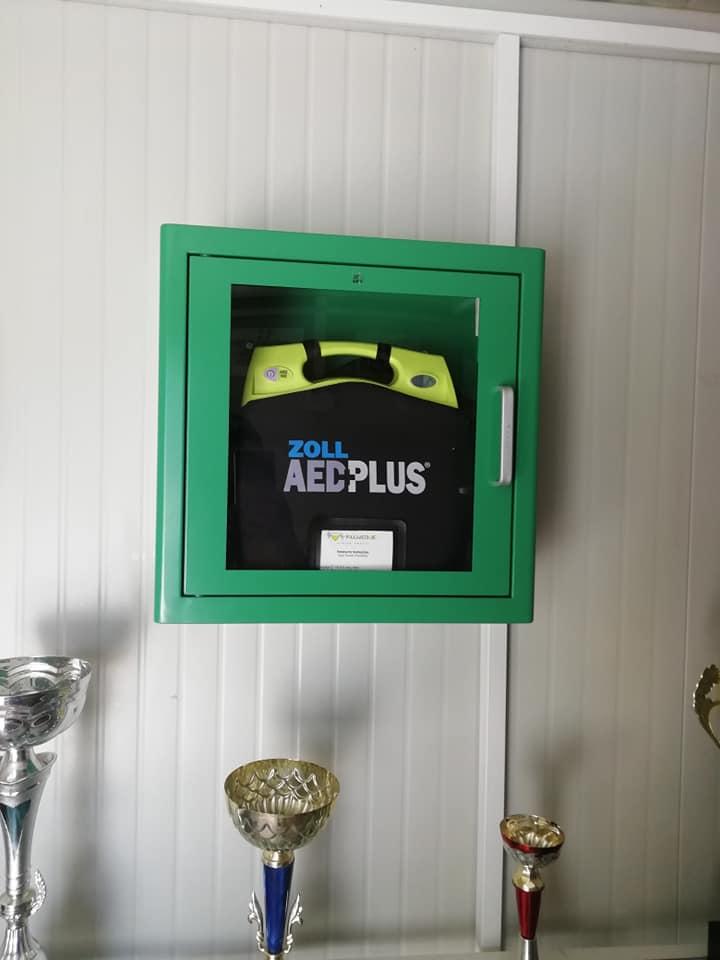 Απινιδωτής τοποθετήθηκε στα γραφεία του Αετού Κορυδαλλού