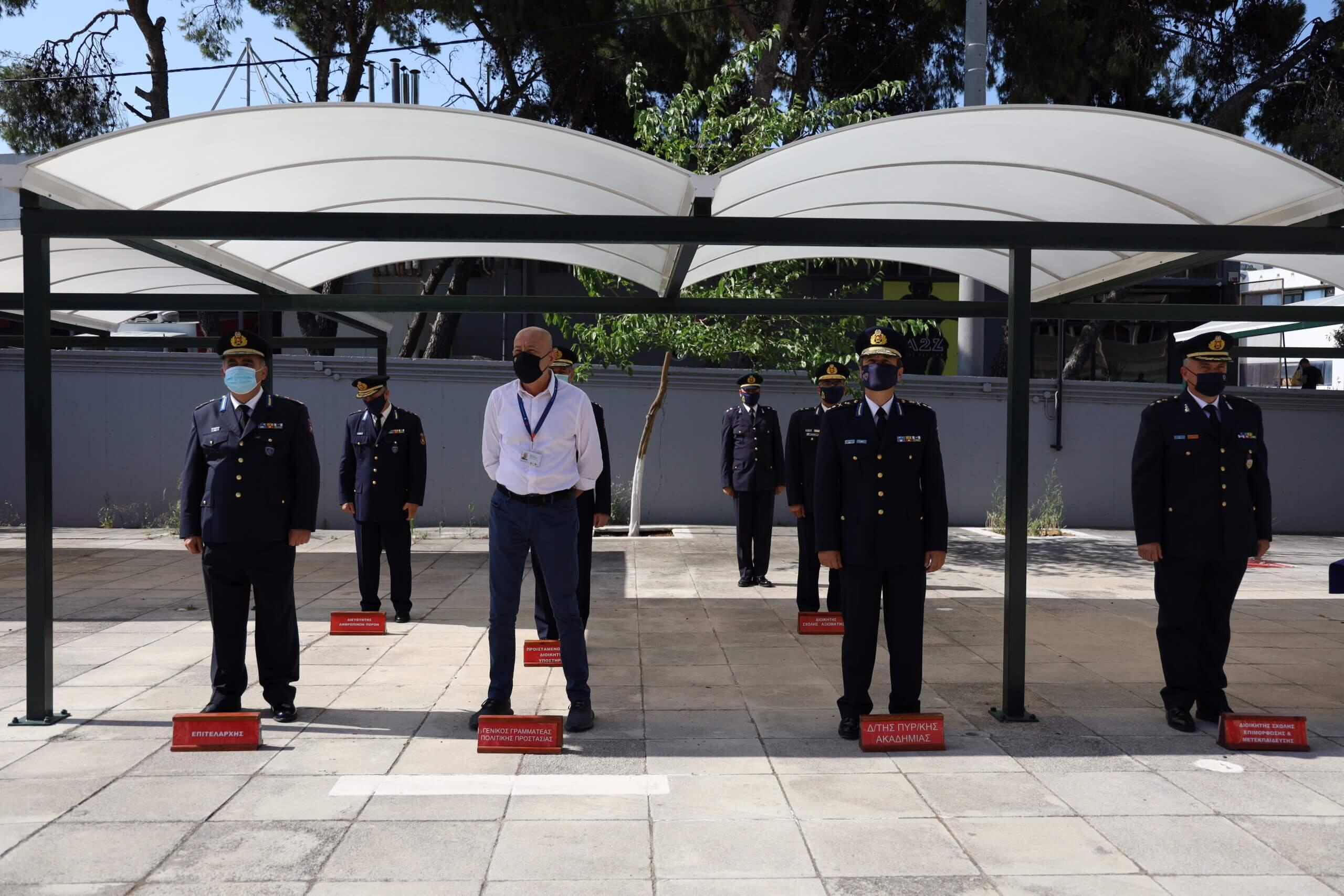 Τελετή απονομής πτυχίων  Αξιωματικών του Πυροσβεστικού Σώματος