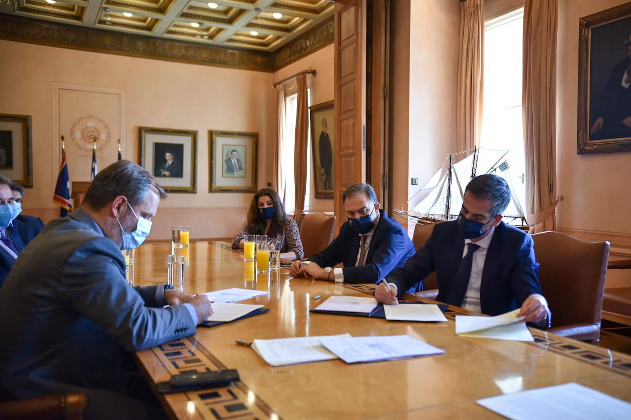 Συμφωνία Δήμου Αθηναίων - ΕΤΑΔ για την αναγέννηση του Λυκαβηττού
