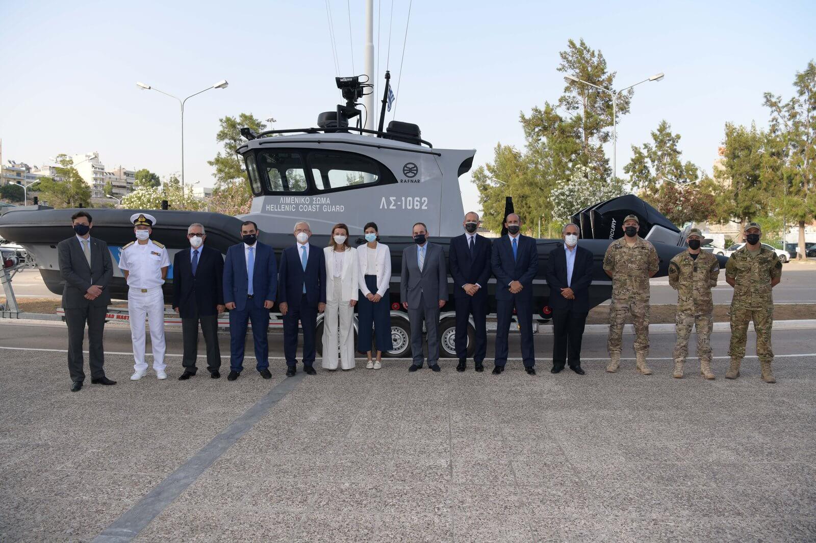 Εντάχθηκαν στον στόλο του Λιμενικού Σώματος τα τέσσερα τελευταία υπερσύγχρονα ταχύπλοα περιπολικά σκάφη