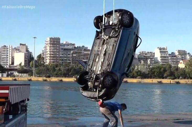 Βουτιά θανάτου στο Λιμάνι του Πειραιά