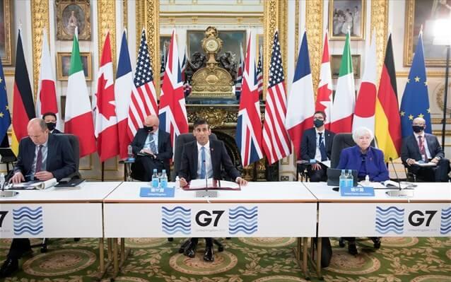 Η G7 άναψε πράσινο φως για τον παγκόσμιο εταιρικό φόρο 15%