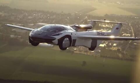 Η πρώτη πτήση αυτοκινήτου είναι γεγονός