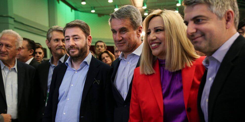 Η πορεία των εσωκομματικών εκλογών του ΚΙΝΑΛ μέσα από τις έρευνες της Opinion Poll