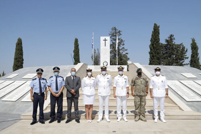 Επίσημη επίσκεψη του Αρχηγού Λιμενικού Σώματος – Ελληνικής Ακτοφυλακής στην Κύπρο