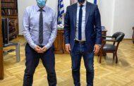 Συνάντηση του Γιάννη Μελά με τον Υπουργό Υγείας Θάνο Πλεύρη