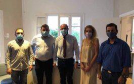 Συνάντηση Μαρκόπουλου με μέλη της Εθνικής Επιτροπής Δικαίωσης Αρμενίων