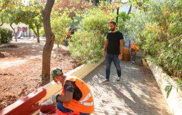 Πειραιάς: Επιχείρηση καθαρισμού και εξωραϊσμού στην πλατεία Θερμοπυλών και Ολύνθου