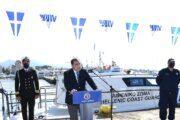 Παραδόθηκε το νέο Περιπολικό Σκάφος με Υγειονομικό Εξοπλισμό στην Λιμενική Αρχή Αίγινας
