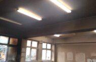 Βανδάλισαν και έβαλαν φωτιά σε γυμνάσιο του Κερατσινίου